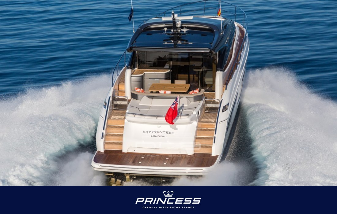 princess v65 nouveau  new model bateaux neufs