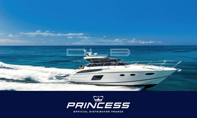 PRINCESS V48 Deck Saloon