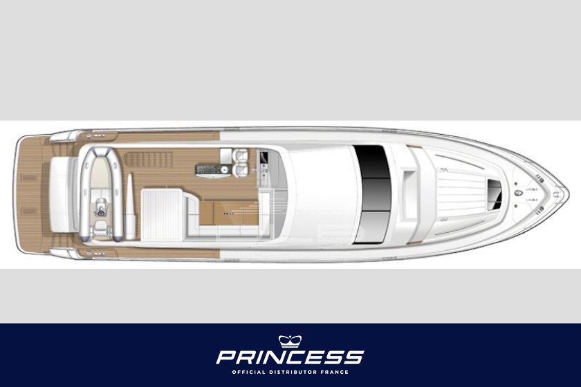 princess 72 - vente princess 72