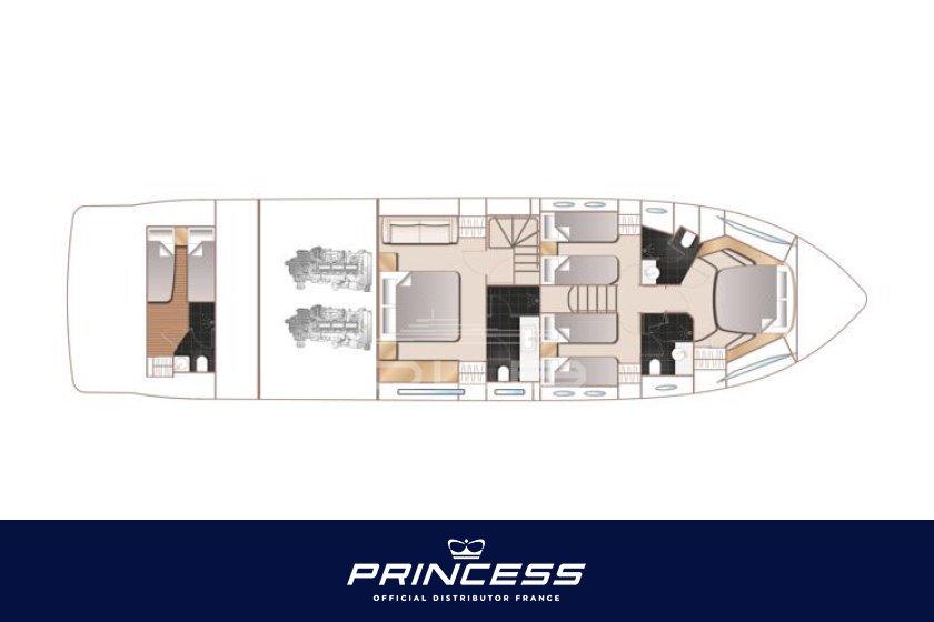PRINCESS 68