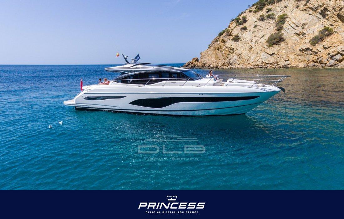 Princess V65 Site Neufs Specifications Dlb Yacht Broker