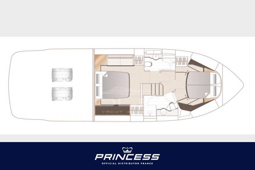 PRINCESS F45 Nouveau/New Model