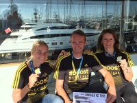 DLB / PRINCESS team at the Nice - Cannes Marathon