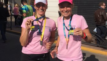 DLB / PRINCESS team at the Nice - Cannes Marathon