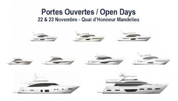 Open Days PRINCESS Yachts France and FJORD Côte d'Azur - 22nd to 24th November