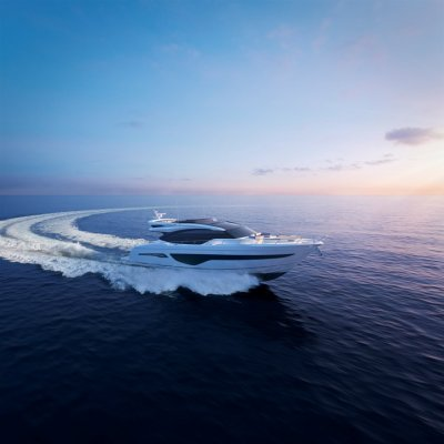 The new PRINCESS S78 will be exposed at the biggest indoor boat show in Düsseldorf