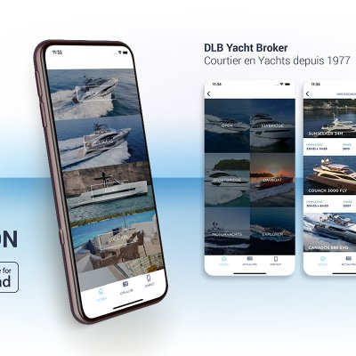 New DLB Yacht Broker application available on Apple Store