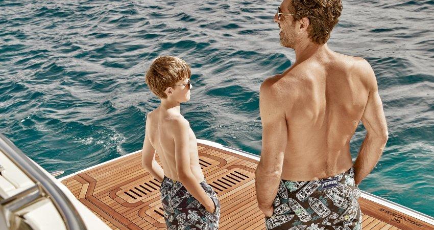 Princess Yachts France swimwear by Vilebrequin