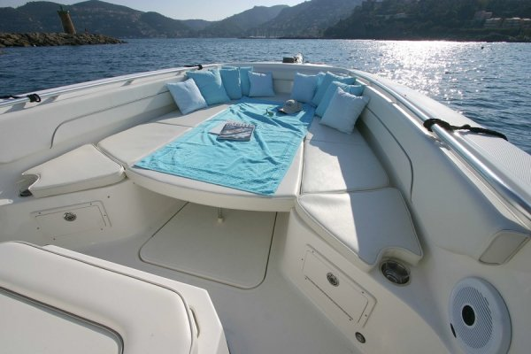 Flybridge AZIMUT 80 Carat - Boat picture. » Click to enlarge