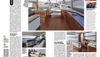Essais Princess F55 par Neptune yachting Moteur
