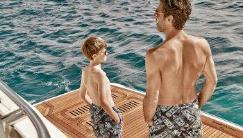 Maillots de Bain PRINCESS Yachts France par Vilebrequin