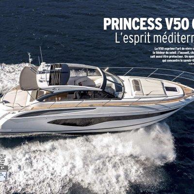 PRINCESS V50 OPEN - L'esprit méditerranéen